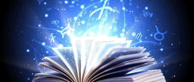 blue astrology book